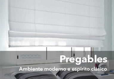 Estores pregables